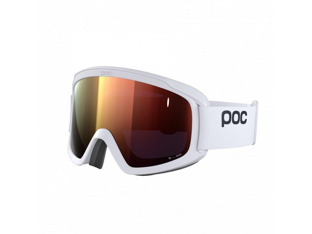 Brýle POC OPSIN CLARITY, hydrogen white/spektris orange