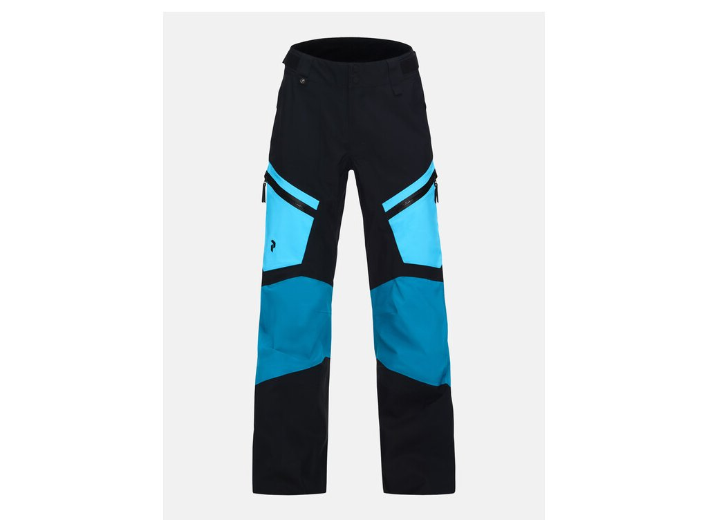 Kalhoty Peak Performance W GRAVITY PANTS, deep aqua 01