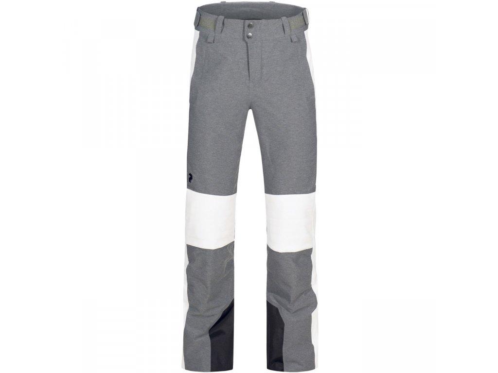 Kalhoty Peak Performance W LANZO MELANGE PANTS, grey melange 01