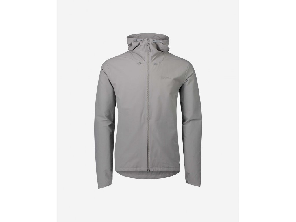 46898 4 bunda poc men s transcend jacket alloy grey
