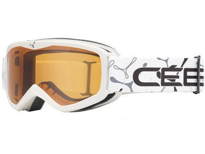Brýle J Cébé TELEPORTER, white, orange, XS