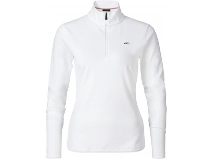 Rolák Kjus FEEL HALFZIP, white