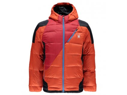 Bunda Spyder BERNESE DOWN JACKET, brs red frb