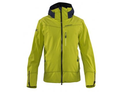 Bunda Stöckli SKIJACKET WRX PADDED, lime