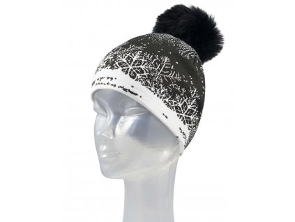 Čepice Newland NI THERMOREGULATING BEANIE, blackwhite