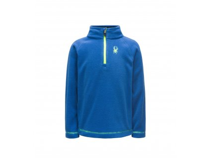 Rolák Spyder MINI SPEED FLEECE TOP, tus/yel