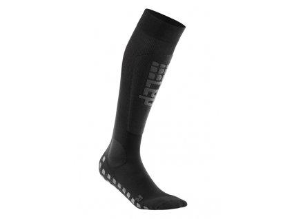 Ponožky Cep SKI GRIPTECH COMPRESSION SOCKS, black/anthracite