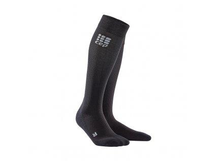 Ponožky W Cep COMPRESSION SOCKS FOR RECOVERY, black