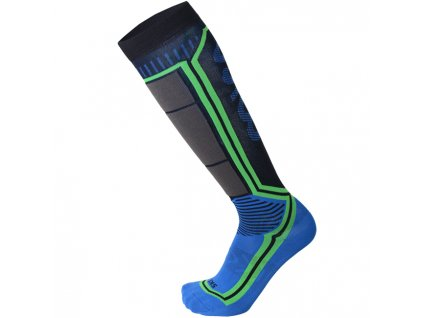 Ponožky Mico ARGENTO X STATIC SKI SOCKS, blu