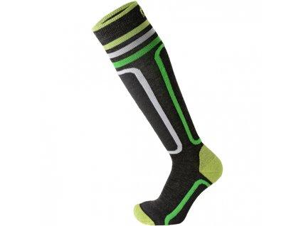 Ponožky Mico KIDS PERFORMANCE SKI SOCKS, antracite