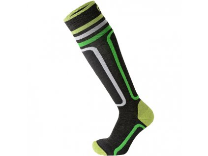 Ponožky Mico KIDS PERFORMANCE SKI SOCKS, antracite