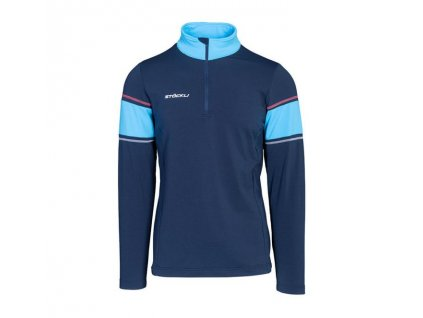 Pánský rolák Stöckli FUNCTIONAL SHIRT, navy/light blue