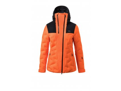 Bunda Kjus ELA JACKET, kjus orange black 01