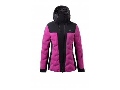 Bunda Kjus ELA JACKET, fruity pink black 01