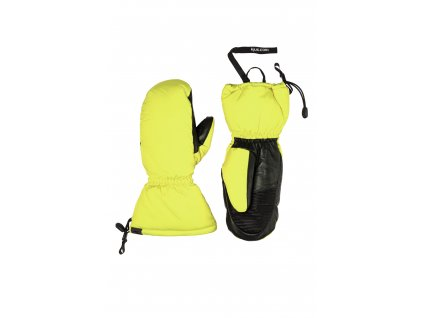 Rukavice palcové Kjus THE MITT 2.0, citric yellow
