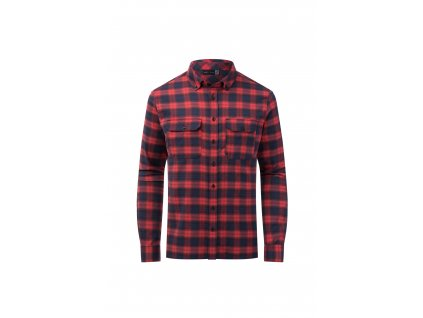 Košile Kjus MACUN SHIRT, currant red