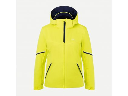 Bunda Kjus BOYS FORMULA JACKET, citric yellow 01