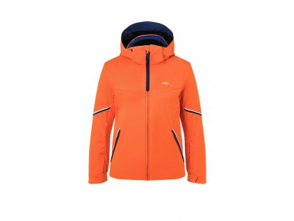 Bunda Kjus BOYS FORMULA JACKET, kjus orange southern blue 02