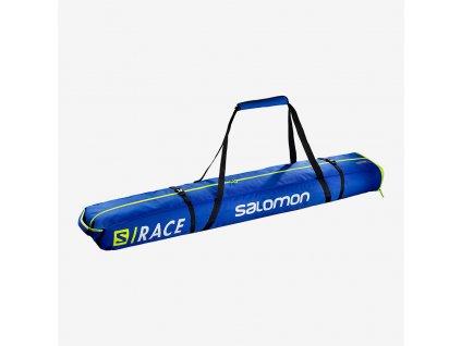 Vak na lyže Salomon EXTEND 2P SKIBAG, race blue, 175+20 cm