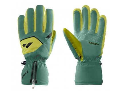 Rukavice Zanier REITH.STX JR, olive lime
