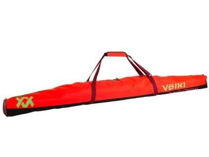 Vak na lyže Völkl RACE SINGLE SKI BAG, gs red, 195 cm