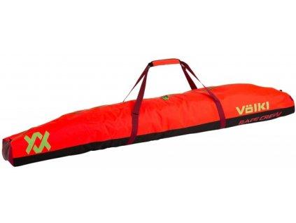 Vak na lyže Völkl RACE DOUBLE SKI BAG, gs red, 195 cm