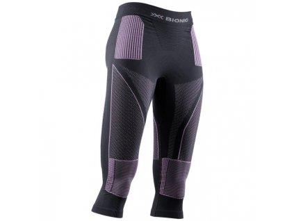 Kalhoty X Bionic ENERGY ACCUMULATOR 4.0 PANTS 3 4 WMN, charcoal magnolia 01