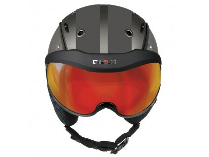 Helma Casco SP 6 VISOR, dark silver, vautron multilayer