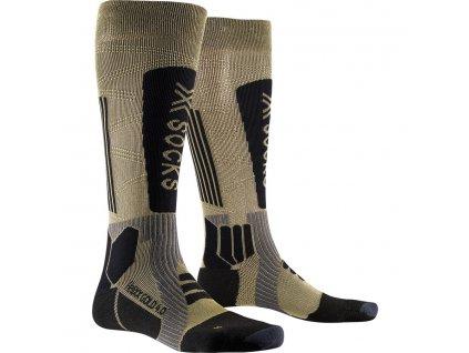 Ponožky X socks HELIXX GOLD 4.0, gold black