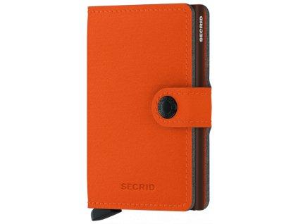 Peněženka Secrid MINIWALLET YARD, orange 01