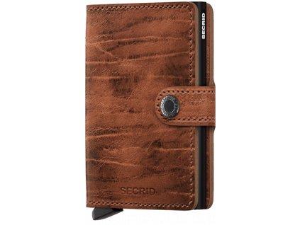 Peněženka Secrid MINIWALLET DUTCH MARTIN, whiskey 01
