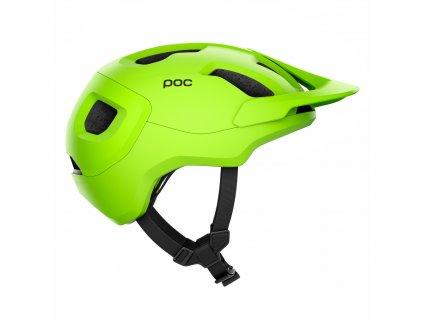 Helma POC Axion SPIN Fluorescent Yellow Green Matt 02