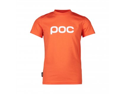 Triko POC TEE JR, zink orange