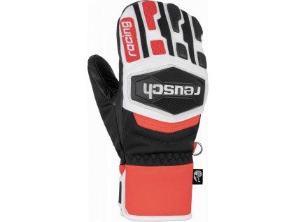 Reusch Worldcup Warrior R TEX® XT JR Mitten 6071533 7810 white black red front