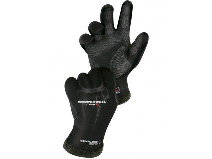 Pánské rukavice Komperdell ALPINE MERINO, black