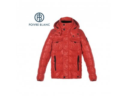 veste poivre blanc jrbya down jacket rouge garcon