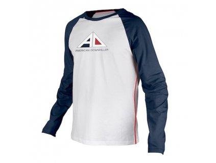 dres poc raglan jersey ad dubnium blue hydrogen white xl