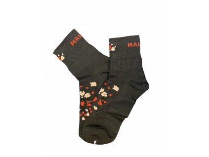 Ponožky černé 2
