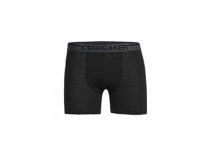 Pánské boxerky Icebreaker ANATOMICA BOXERS, black