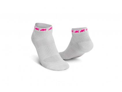 ponožka b růžová