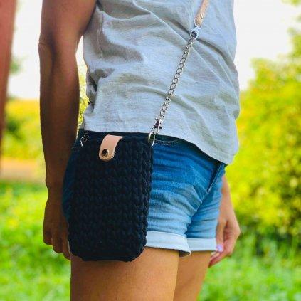 Háčkované kabelka MINI