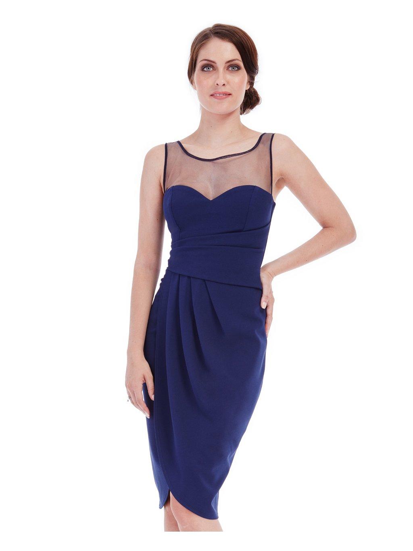 Pouzdrové šaty Madison modré 83f0505c73e