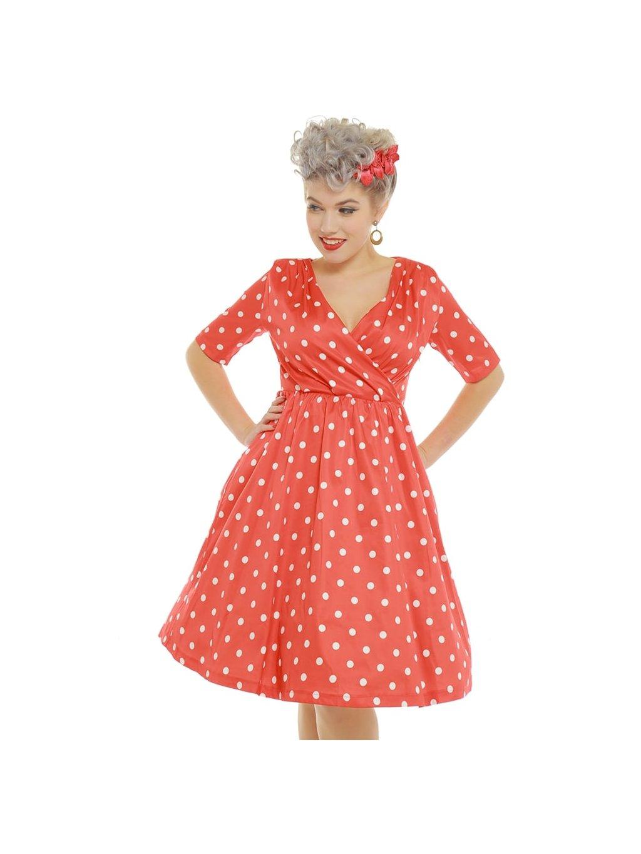 dahlia red polka dot wrap front swing dress p3410 19638 zoom 924cbe4e13