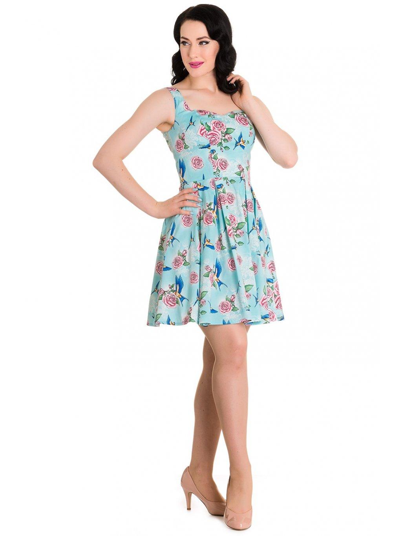 b4416b00d28 1 z 2. popsodauk 301449. Nádherné retro šaty ...