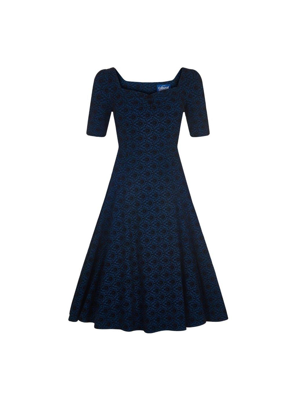 b8d0d1f15730 dolores doll half sleeve brocade dress p6776 196993 image