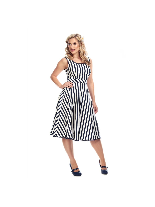 ffacb468b922 lucille striped swing dress p7608 221096 image. Trendy šaty v retro ...
