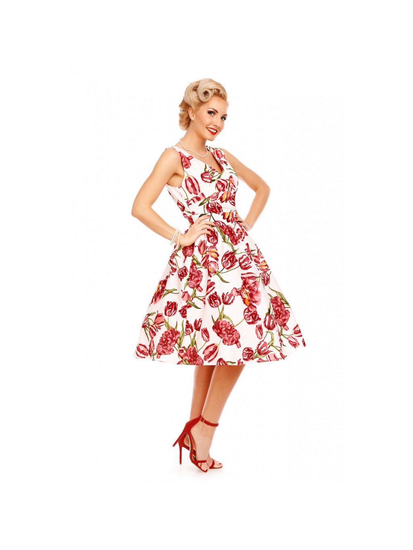 v747 8 1 2 v747 8 2 v747 8 3 v747 8 4 (1). Dámské šaty Dolly and Dotty v  populárním retro ... 8437b28000