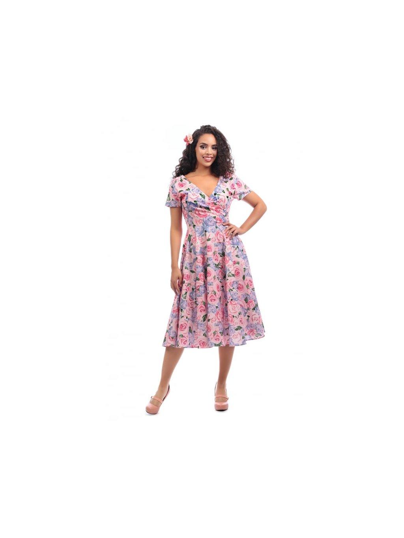 b76753a66ff0 Dámské retro šaty Maria Country Garden - MOODA.cz