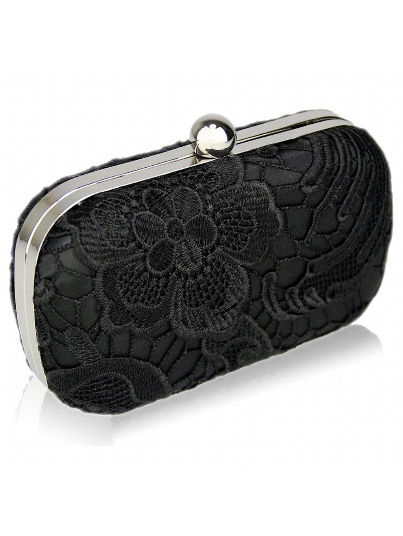 LS Fashion společenská kabelka LS0110 černá 75866e66a32