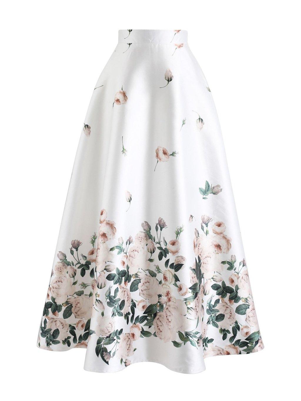 b2f2c33403c2 Dámská maxi sukně Fallen Rosa - MOODA.cz